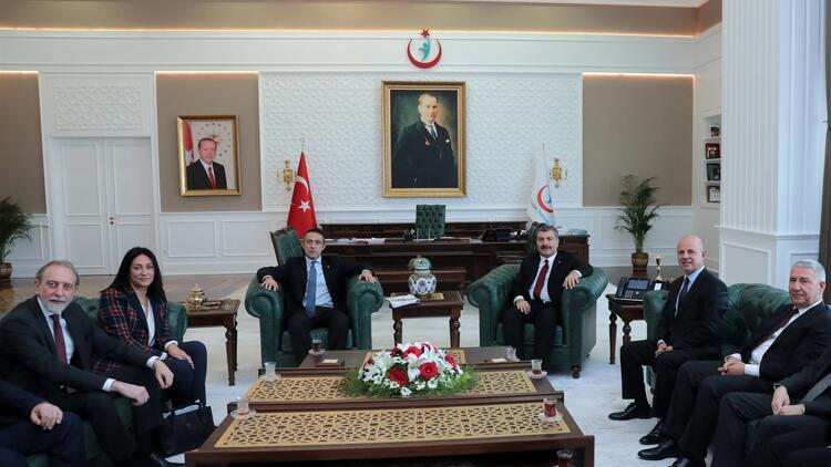 TÜSİAD heyetinin Ankara temasları