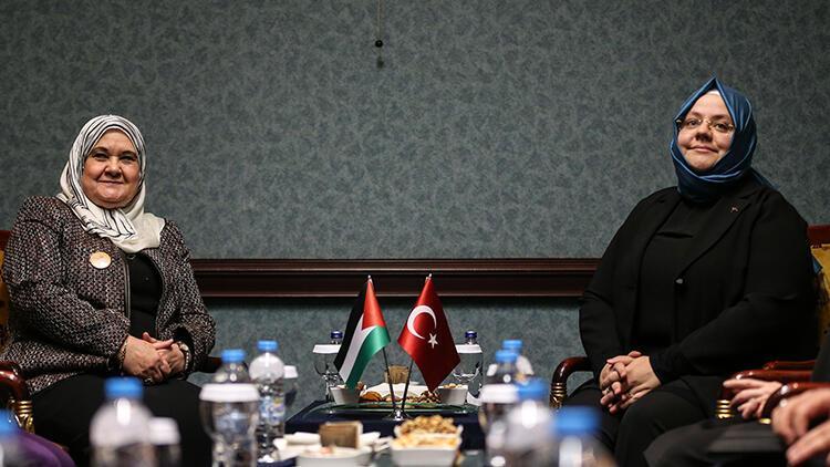 """Türkiye ile Filistin arasında """"kadınlar için"""" iş birliği anlaşması"""