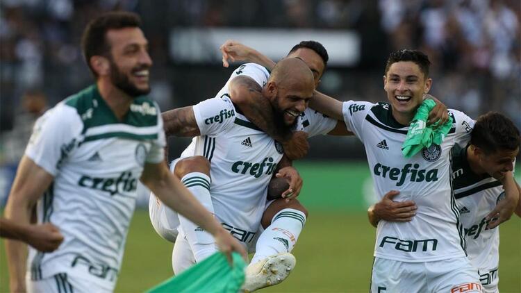 Melo'lu Palmeiras şampiyon oldu