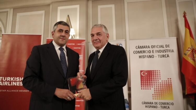 Türk ve İspanyol şirketlerine İspanya'dan ödül