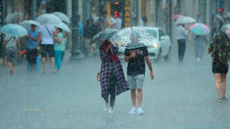 Son dakika: Meteorolojiden İstanbul için kuvvetli yağış uyarısı