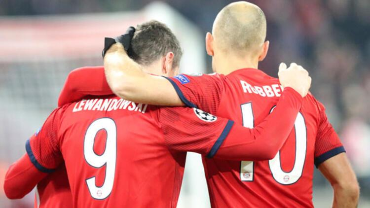 Bayern Münih, 5 atıp turu kaptı