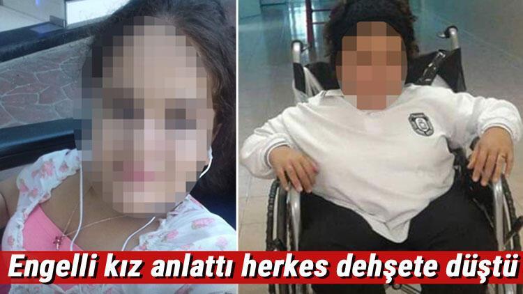Fiziksel engelli kıza taciz iddiası 'Şikayet edersen seni öldürürüm dedi'