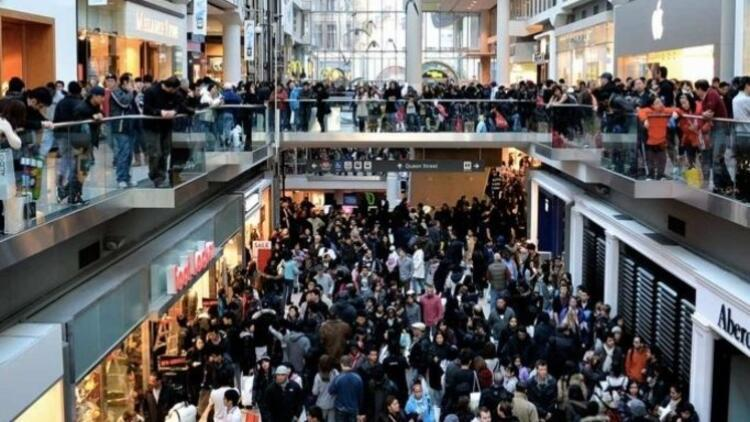 ABDdeki alışveriş haftasında harcamalar beklentinin altında