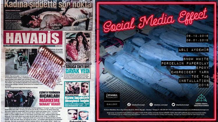 Aslı Aydemirden Social Media Effect sergisi