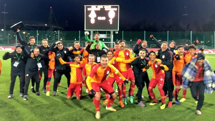 Galatasarayın gençleri 90+4te kazandı