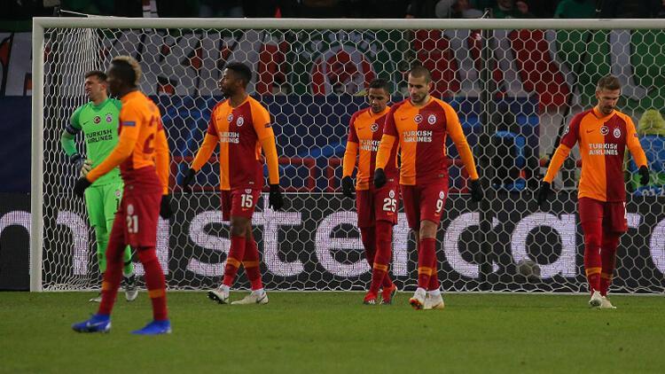Devler Ligine soğuk veda Galatasaray, Lokomotiv Moskovaya direnemedi