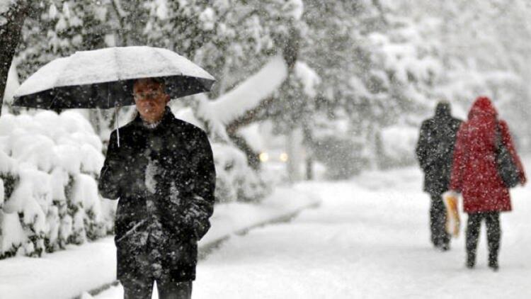 İstanbula kar ne zaman yağacak İşte kar yağışı beklenen iller