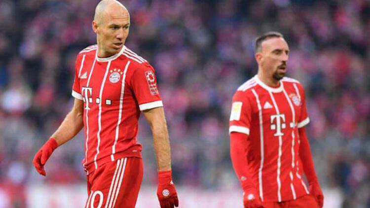 Bayernde Robben ve Ribery artık yolcu