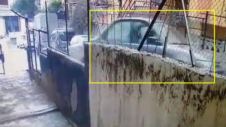 İstanbul'da ilginç kaza: Hiçbir şey olmamış gibi yoluna devam etti
