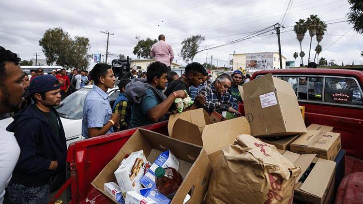 Tijuana gelen göçmen sayısı 9 bine ulaştı