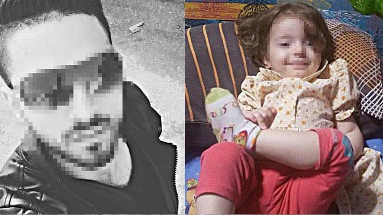 2 yaşındaki üvey kızını dövmüştü Tutuklandı