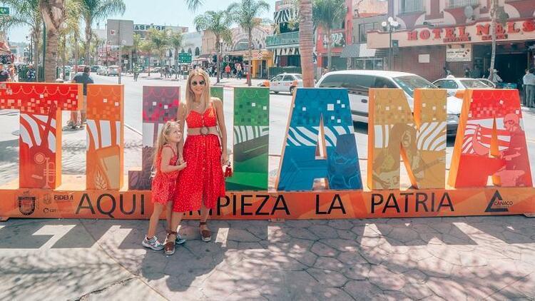 Meksika sınırını çocukla geçmek…