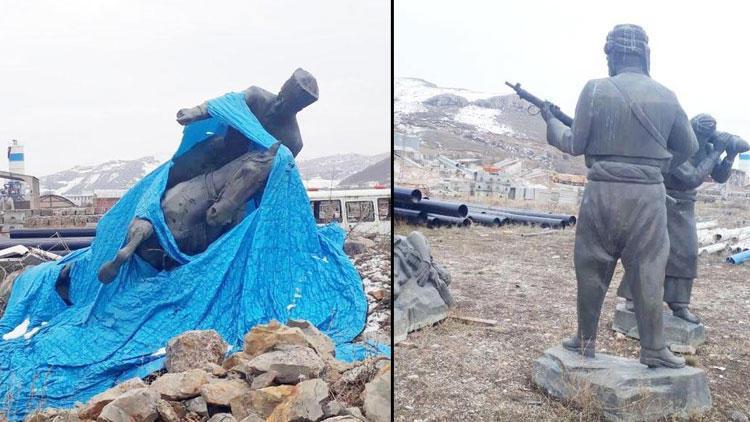 Sosyal medyada tepki çekmişti... Belediyeden 'Atatürk heykeli' açıklaması