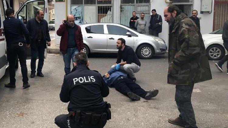Bursa'da dehşet Herkesin içinde kurşun yağmuruna tutuldu