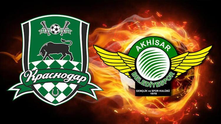 Krasnodar Akhisarspor maçı ne zaman saat kaçta ve hangi kanalda