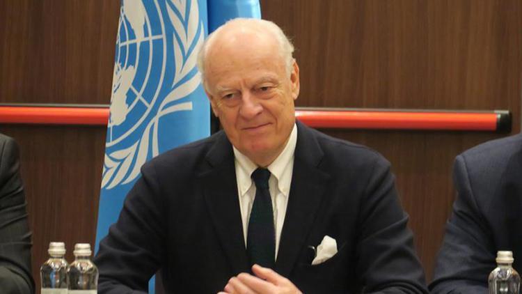 Suriyede anayasa komitesi kurulması için yıl sonuna kadar çalışacağım