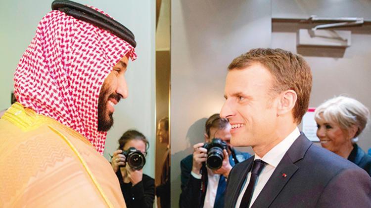 Macron G20 Zirvesinde Veliat Prens ile görüşecek