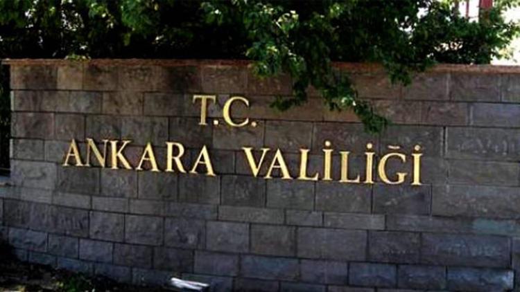 Ankara Valiliğinden o paylaşımlara yalanlama