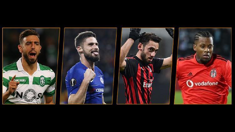 Avrupa Liginde haftanın oyuncusu Çalhanoğlu ve Lens...