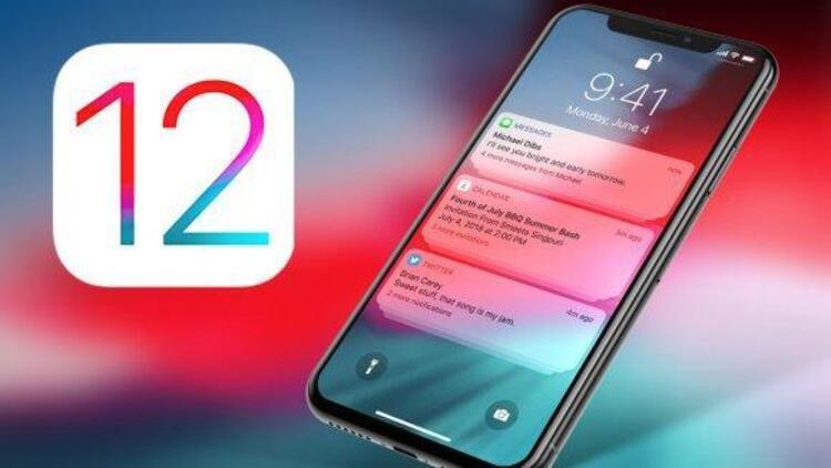 Hızla yayılıyor: iOS 12yi indiren indirene...