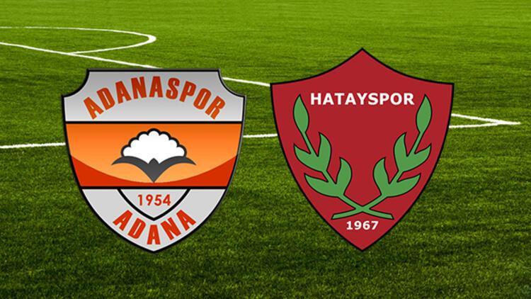 Adanaspor Hatayspor maçı ne zaman saat kaçta hangi kanalda