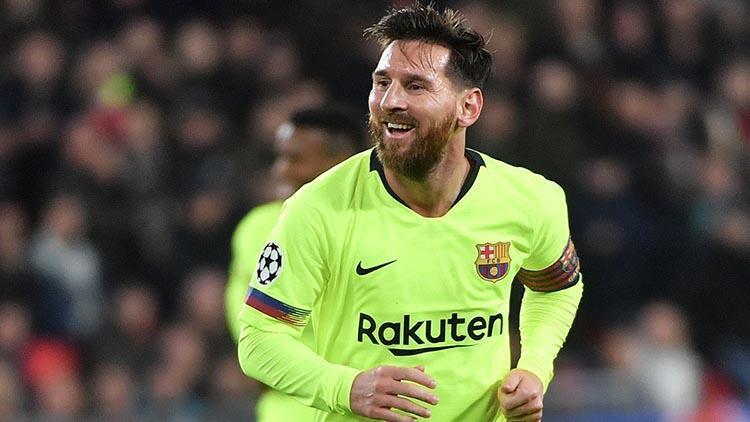 Şampiyonlar Liginde haftanın futbolcusu Messi