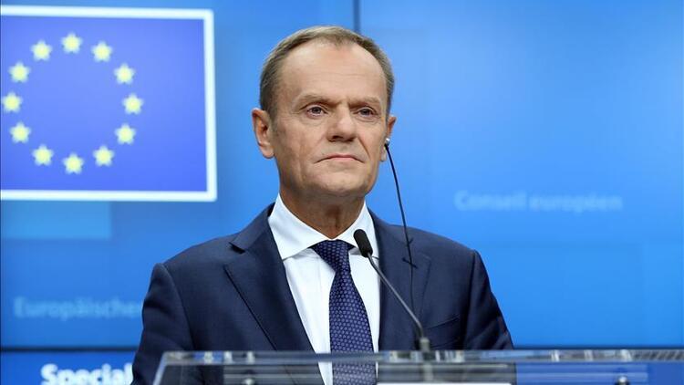 Son dakika.. AB Konseyi Başkanı Tusktan  kritik Rusya açıklaması