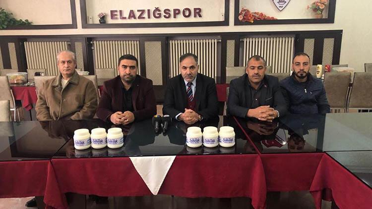 Önce kömür, şimdi de peynir desteği Elazığspor...