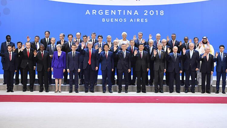 G20de beklenen fotoğraf geldi