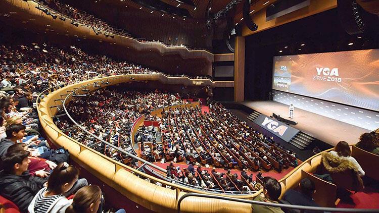 2 bin 500 genç, YGA Zirvesi'nde buluştu