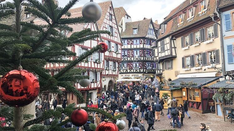 Colmar'da masalsı Noel