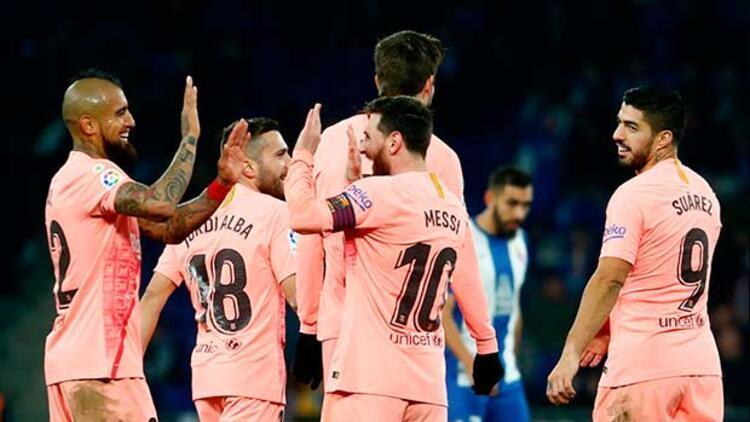 Barcelona liderliğini korudu, PSG 2. kez puan kaybetti