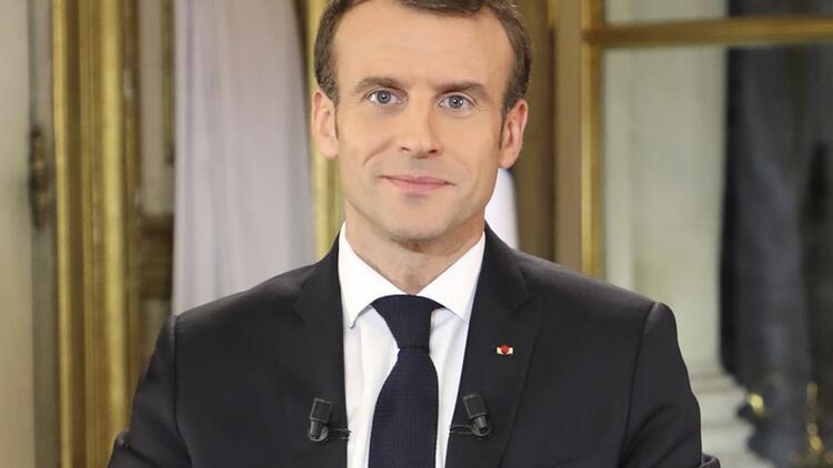 Son dakika... Macron'dan flaş açıklamalar: Ekonomik ve sosyal bir olağanüstü hal ilan edeceğim