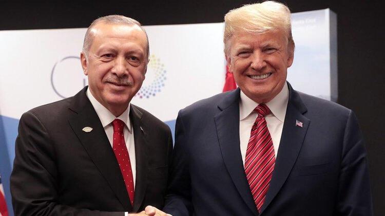 Son dakika... Erdoğan ve Trump görüştü