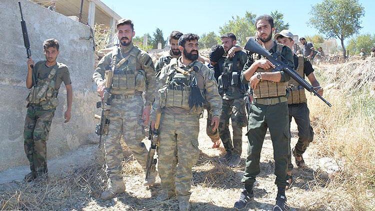 Suriyeli muhalif Milli Ordu'dan Türkiye'ye destek