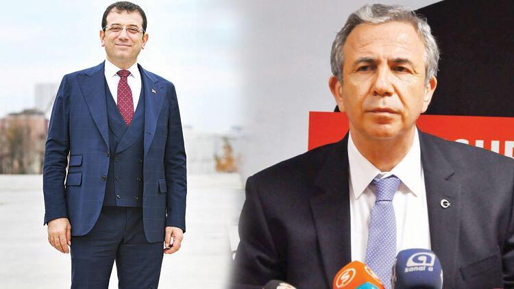 İstanbul'a İmamoğlu, Ankara'ya Yavaş aday