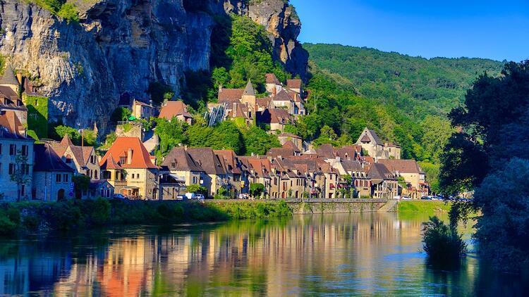 Dordogne Vadisi ve gastronomi köyleri