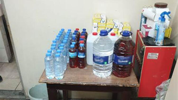 Son dakika.... Emniyet açıkladı: Binlerce şişe kaçak ve sahte içki ele geçirildi