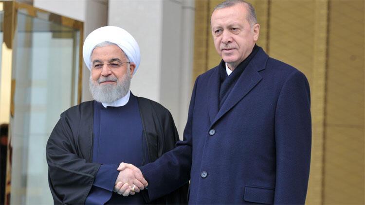 Son dakika... İran Cumhurbaşkanı Ruhani Beştepe'de...