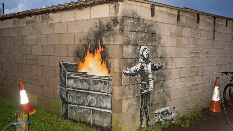 Banksy uyku kaçırdı