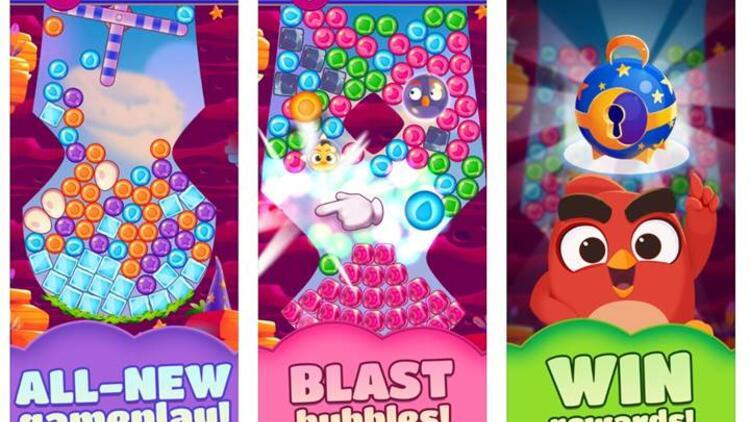 Şimdi de Angry Birds Dream Blast geliyor