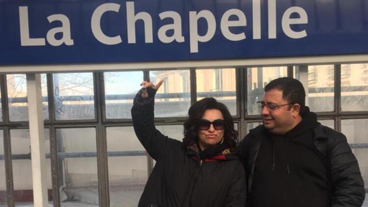 Nilgün Belgün'ün kahkahalarını Paris kıskandı!