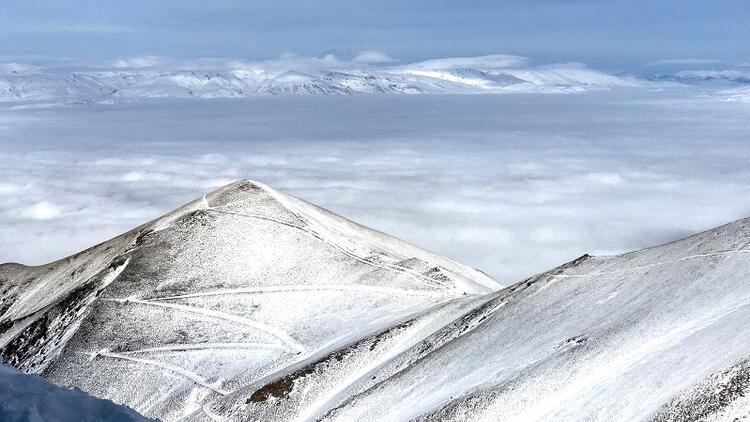 Beyazın peşinde dağların zirvesinde: Erzurum