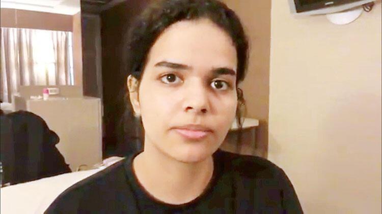 Suudi genç kızı BM korumaya aldı