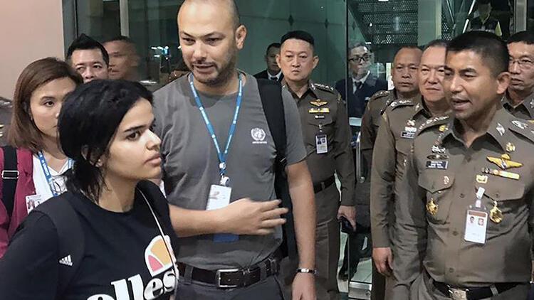 Taylandlı ve Suudi yetkililer alıkonulan Suudi kadını görüştü