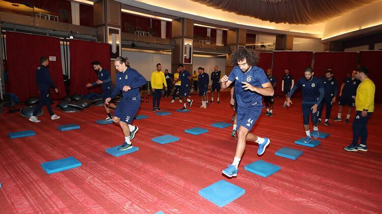 Fenerbahçe denge ve kuvvet çalıştı!