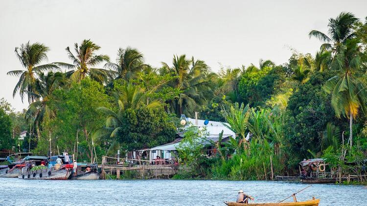 Mekong Deltası'nda romantizm