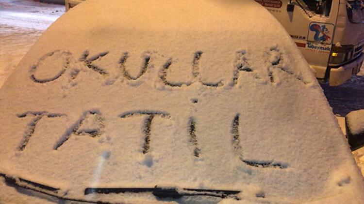 Hangi illerde okullar tatil edildi? Birçok kentte eğitime kar tatili molası