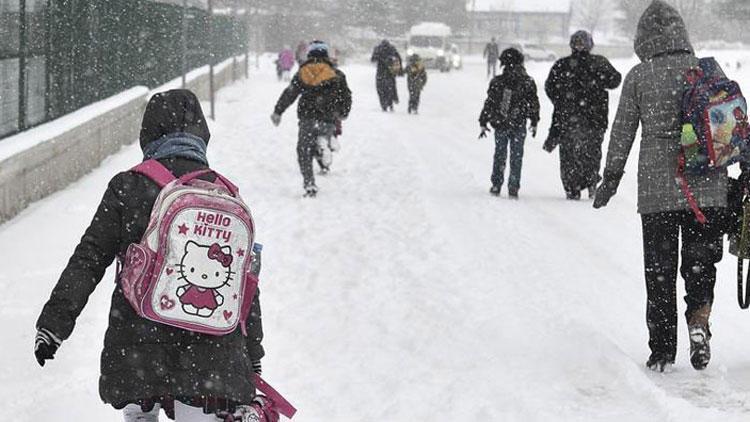 Bugün okullar tatil mi? İşte yoğun kar yağışı nedeniyle okulların tatil edildiği iller